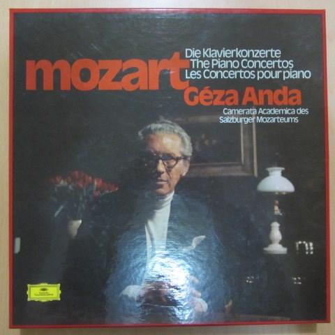 Mozart Complete Piano Concertos Geza Anda Dgg