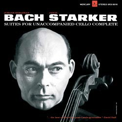 Johann Sebastian Bach: Suites 1-6 for solo Cello - Janos Starker