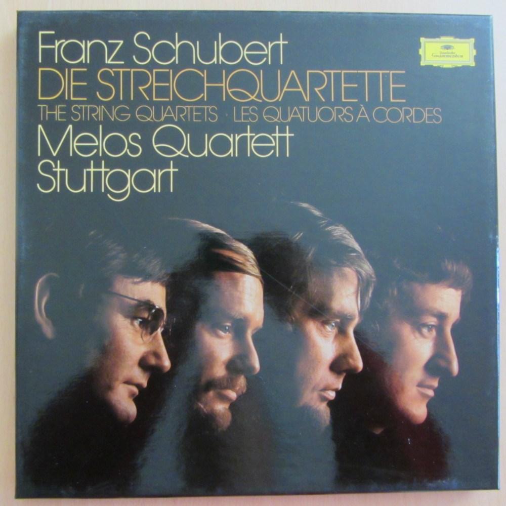 Schubert Complete String Quartets Melos Quartett Deutsche