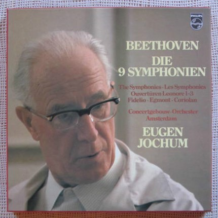 Beethoven Complete symphonies and overtures Eugen Jochum Concertgebouw Orchestra Amsterdam PHILIPS
