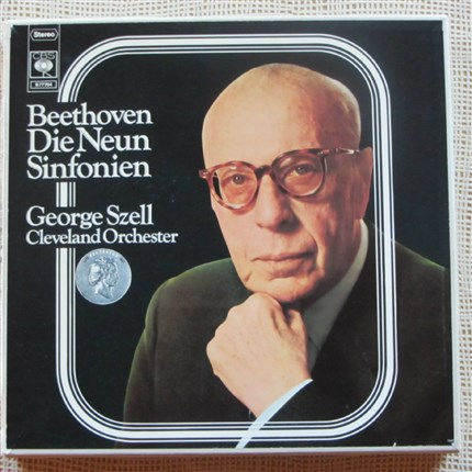 Beethoven Complete nine symphonies Cleveland Orchestra George Szell CBS