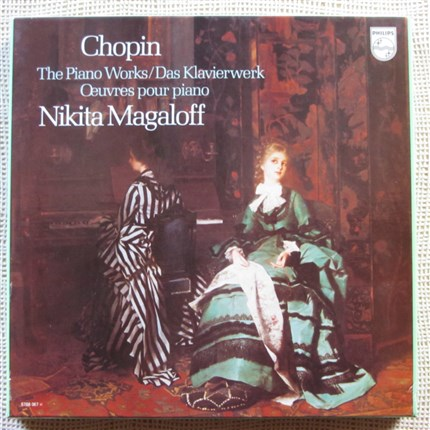 Chopin Complete piano Works Nikita Magaloff PHILIPS