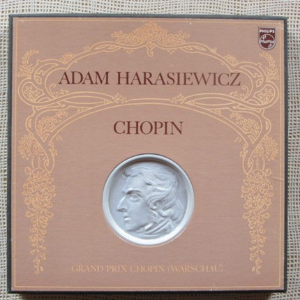Chopin Solo Piano Works by Adam Harasiewicz PHILIPS