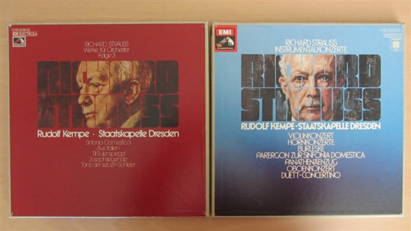 Richard Strauss Complete Symphonic Poems And Concertos