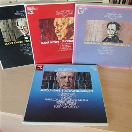Richard Strauss Complete Symphonic Poems and Concertos Staatskapelle Dresde Rudolf Kempe EMI