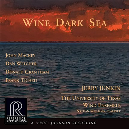 Jerry Junkin Wine Dark Sea HDCD REFERENCE RECORDINGS