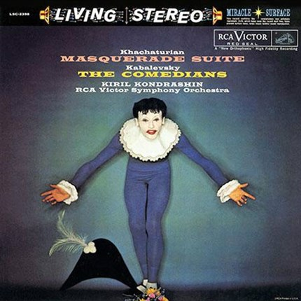 Khachaturian Masquerade Suite & Kabalevsky The Comedians  ANALOGUE PRODUCTIONS 200g LP