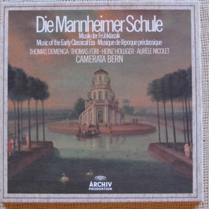 Die Mannheimer Schule Music of early classical era. Camerata Bern Thomas Füri ARCHIV