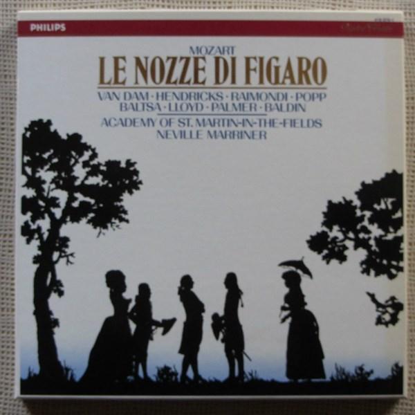 Le Nozze Di Figaro Van Dam Hendricks Raimondi Popp