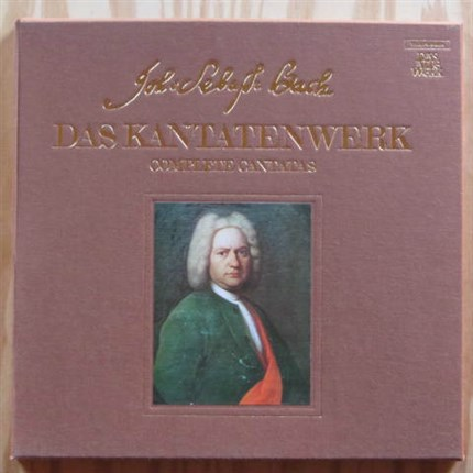 BACH Cantates Vol. 2  BWV 5, 6, 7, and 8 Harnoncourt/Leonhardt TELEFUNKEN
