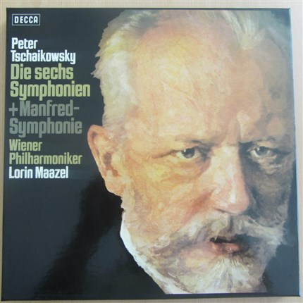 Tchaikovsky Complete Symphonies and Manfred Viena Philharmonic Lorin Maazel DECCA