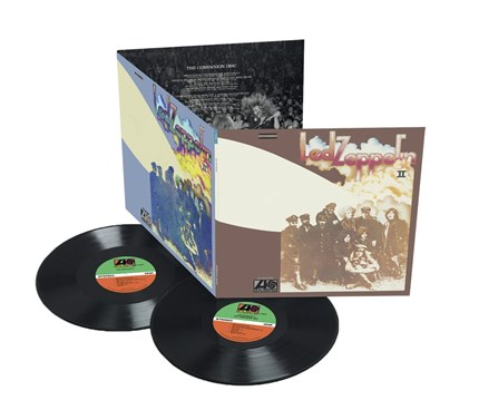 Led Zeppelin II Deluxe Edition 180g 2LP Atlantic WEA