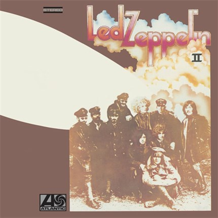 Led Zeppelin II 180g LP Atlantic WEA