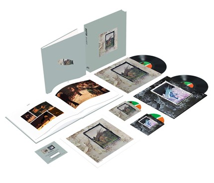 Led Zeppelin IV Numbered Limited Edition Super Deluxe 180g 2LP & 2CD Box Set Atlantic WEA