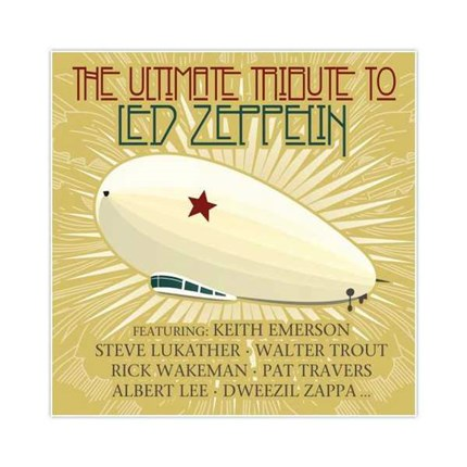 Led Zeppelin The Ultimate Tribute Label Pepper Cake