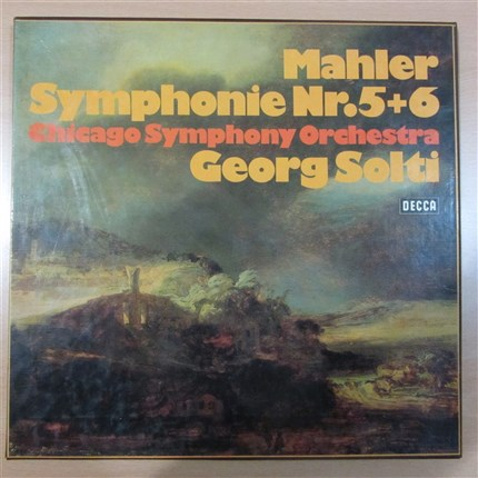 MAHLER Symphonies 5 + 6 GEORG SOLTI Chicago Symphony Orchestra DECCA