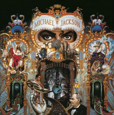 MICHAEL JACKSON DANGEROUS MUSIC ON VINYL 180 gr