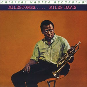 Miles Davis Milestones  Numbered Limited Edition  MOBILE FIDELITY 180g Mono LP