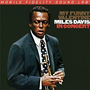 Miles Davis  My Funny Valentine Miles Davis In Concert  Numbered Limited Edition  MOBILE FIDELITY 180g LP