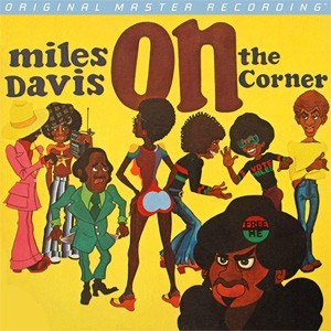 Miles Davis On the Corner Numbered Limited Edition MOBILE FIDELITY 180g LP