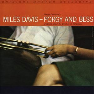 Miles Davis Porgy and Bess MOBILE FIDELITY Numbered Limited Edition 45rpm 180g 2LP