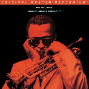 Miles Davis 'Round About Midnight  Numbered Limited Edition  MOBILE FIDELITY 180g LP (Mono)