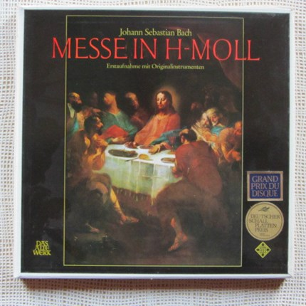 Bach Messe in H-Moll BWV 232 Concentus Musicus Wien Nikolaus Harnoncourt TELEFUNKEN