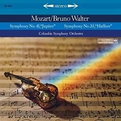 "Wolfgang Amadeus Mozart: Symphonies Nos. 35 K. 385 (""Haffner"") and 41 K. 551 (""Jupiter"") - The Columbia Symphony Orchestra conducted by Bruno Walter COLUMBIA SPEAKERS CORNER"