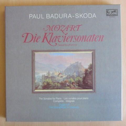Mozart Complete Piano Sonatas Badura Skoda Eurodisc