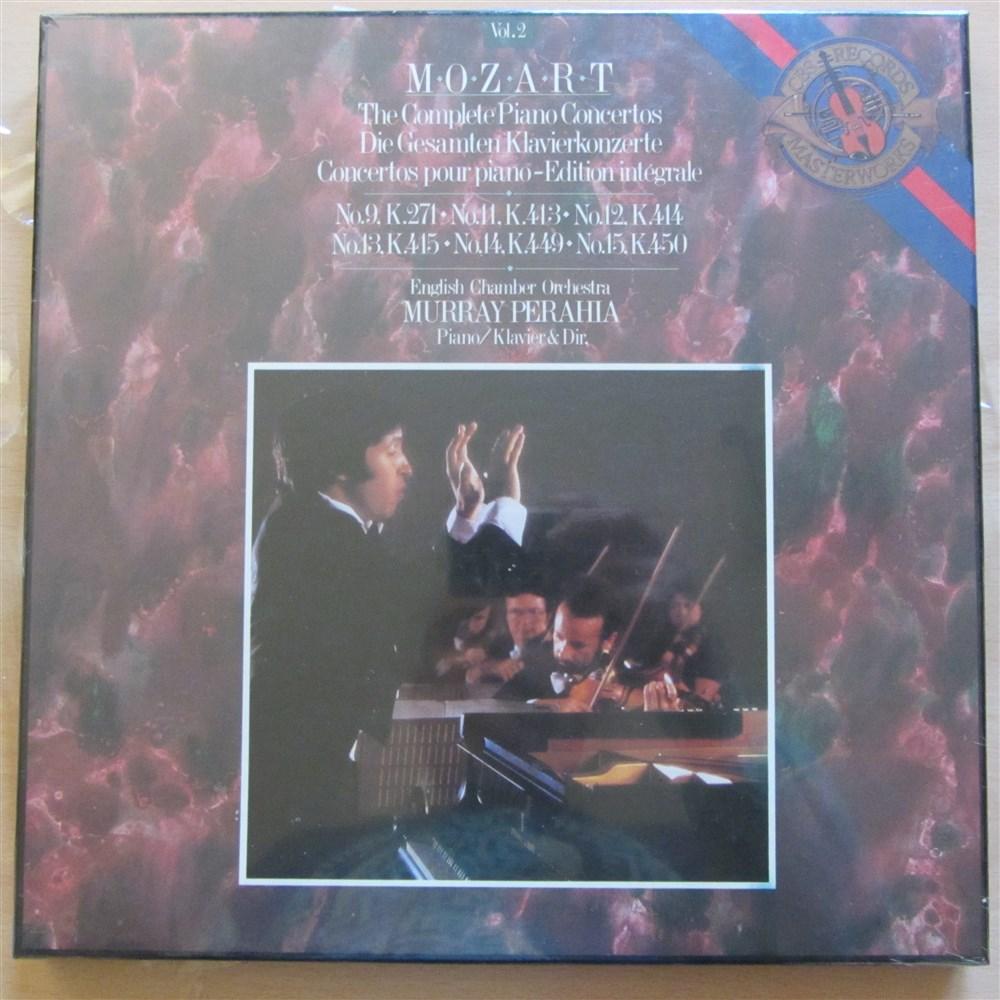 Mozart Piano Concertos Vol 2 9 11 12 13 14 Amp 15