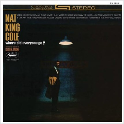 Nat King Cole Where Did Everyone Go? ANALOGUE PRODUCTIONS 180g 45rpm 2LP
