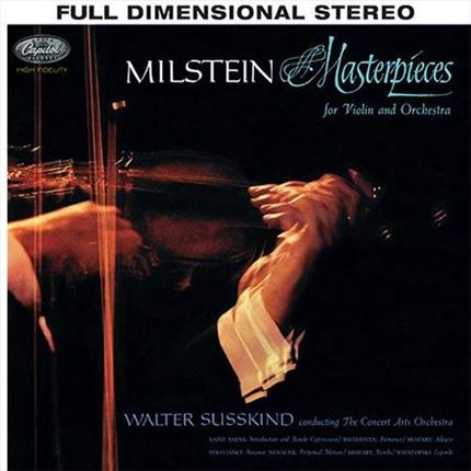 Nathan Milstein Masterpieces for Violin and Orchestra Analogue Productions 200g LP