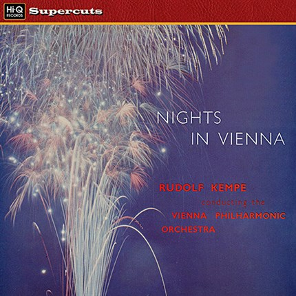 Nights in Vienna, works of Strauss, Suppe, Lehar, Reznicek, Heuberger Vienna Philharmonic Orchestra Rudolf Kempe  EMI