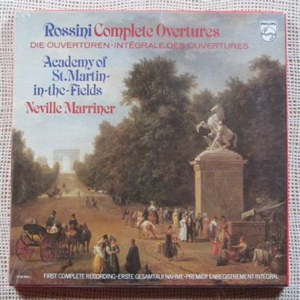 Rossini Complete Overtures The Academy St. Martin-in-the-Fields. Neville Marriner PHILIPS Sealed