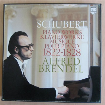 Schubert Piano Works 1822-1828 Alfred Brendel PHILIPS