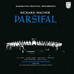 Wagner Parsifal Thomas, London, Hotter Bayreuth Festival Hans Knapertsbusch PHILIPS