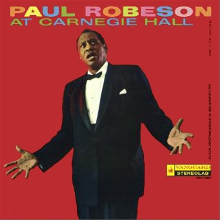 Paul Robeson At Carnegie Hall Pure Pleasure180g LP