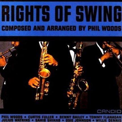 PHIL WOODS RIGHTS OF SWING Pure Pleasure180g LP