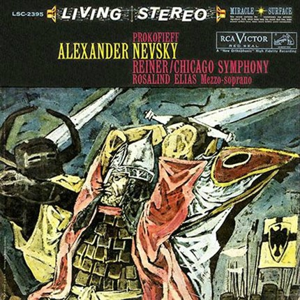 Prokofiev Alexander Nevsky Fritz Reiner Chicago Symphony Orchestra RCA Living Stereo ANALOGUE PRODUCTIONS 200 gr