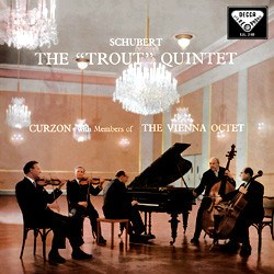 Schubert Piano Quintet The Trout Clifford Curzon Vienna Octet DECCA