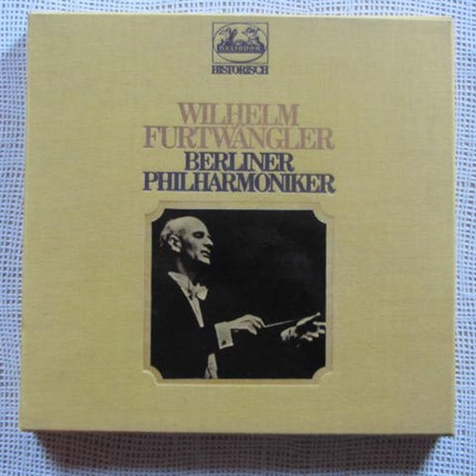 Wilhelm Furtwängler witk the Berliner Philharmonic Works of Mozart, Beethoven, Haydn, Schubert, Bruckner, etc HELIODOR,