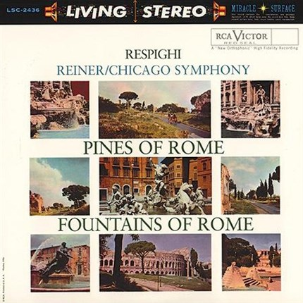 Respighi Pines Of Rome & Fountains Of Rome FRITZ REINER RCA-ANALOGUE PRODUCTIONS 200g 45rpm 2LP