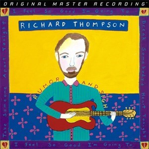 Richard Thomspon Rumor and Sigh Numbered Limited Edition Mobile Fidelity180g 2LP