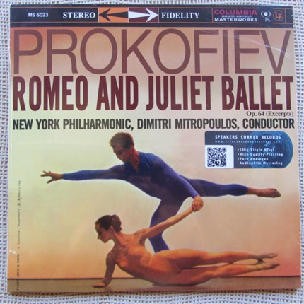 Serge Prokofiev: Romeo And Juliet Ballet, Op. 64 (Excerpts) - The New York Philharmonic Orchestra conducted by Dimitri Mitropoulos COLUMBIA