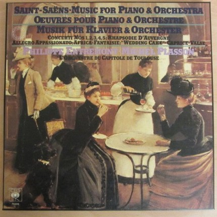 Saint-Saens Music for piano and Orchestra Entremont Plasson CBS