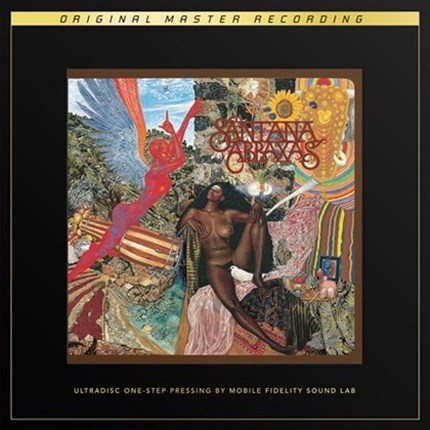 Santana Abraxas Numbered Limited Edition UltraDisc One-Step  MOBILE FIDELITY 180g 45rpm 2LP