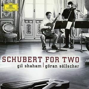 Franz Schubert  Schubert For Two  Gil Shaham, violin Goran Sollscher, guitar ANALOGPHONIC