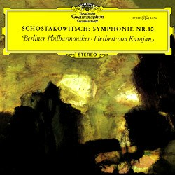 Dmitri Shostakovich: Symphony No. 10 in E minor, op. 93 - The Berlin Philharmonic Orchestra conducted by Herbert von Karajan DGG