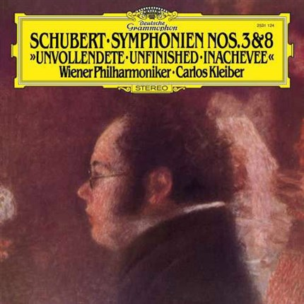"Schubert Symphony No. 3 & 8 ""Unfinished"" 180g LP Deustche Grammophon"