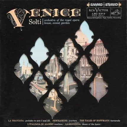 Solti Venice ANALOGUE PRODUCTIONS 200g LP